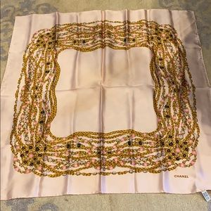 100% authentic silk Chanel Scarf